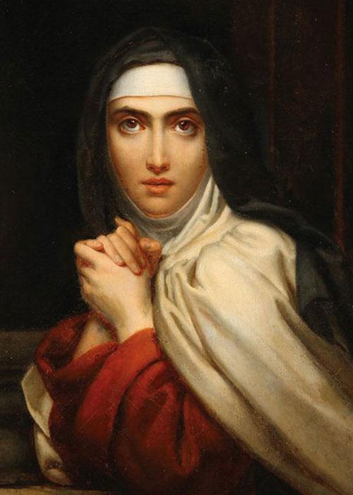 Painting of St.Teresa of Ávila by François Gérard