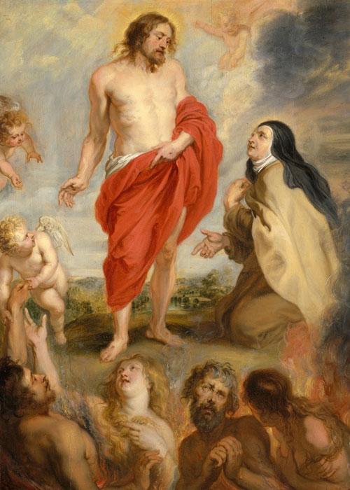 St Teresa of Avila Interceding for Souls in Purgatory by Peter Paul Rubens