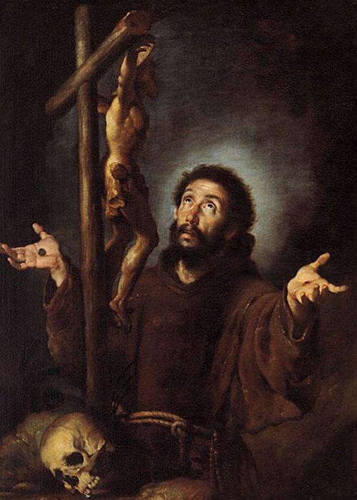 St. Francis of Assisi by Bernardo Strozzi